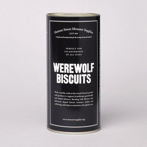 Werewolf Biscuits Photo