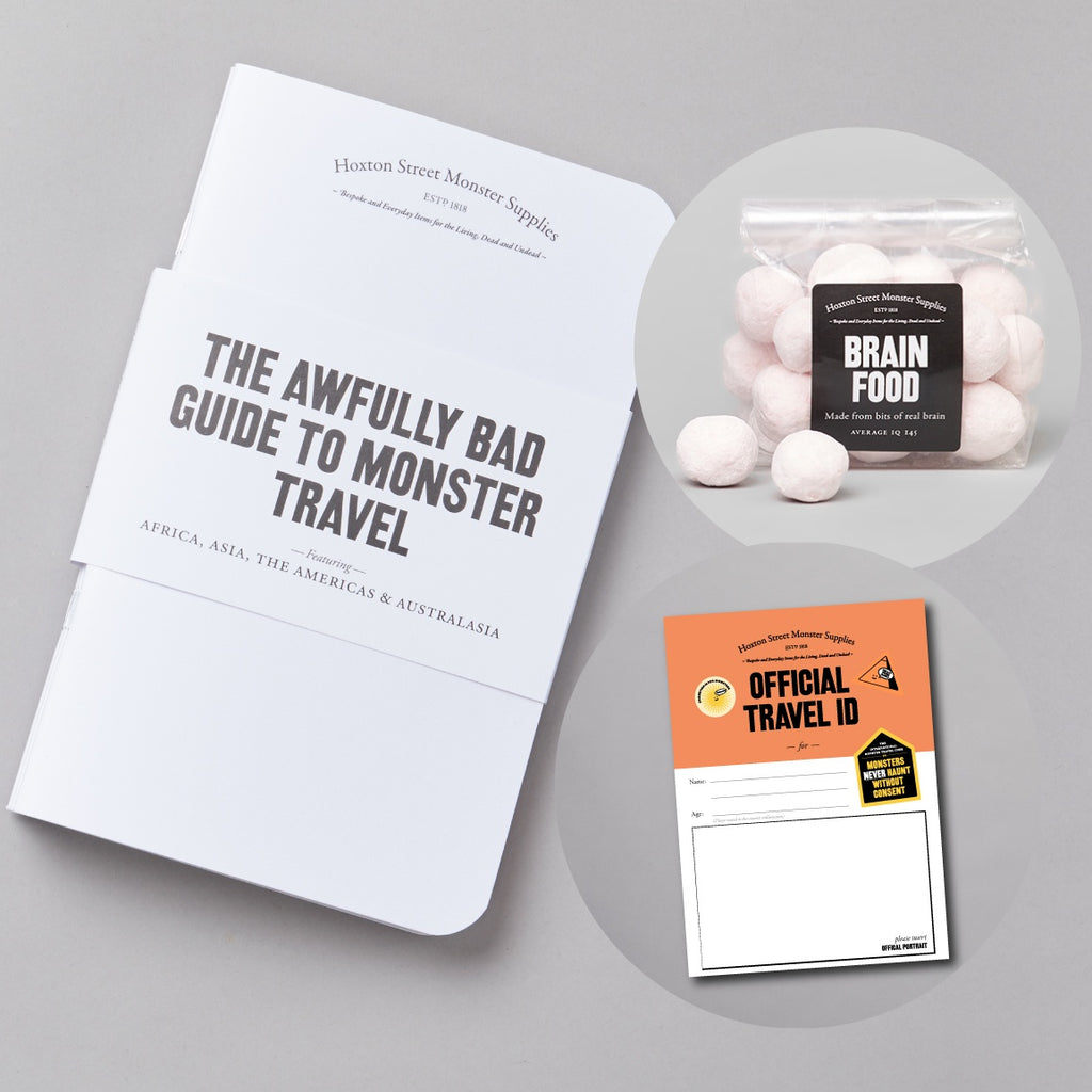 Mini Monsters Travel Bundle
