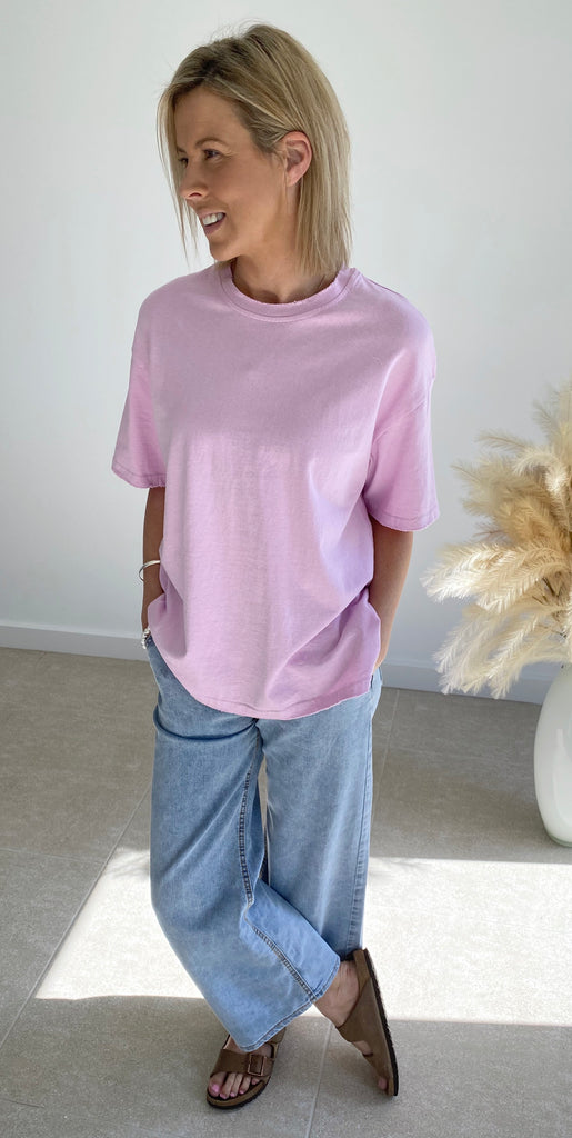 Oversized Tee Lilac