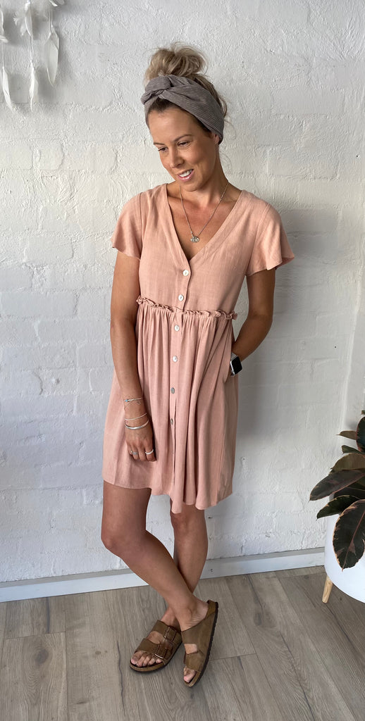 Sienna Dress Blush