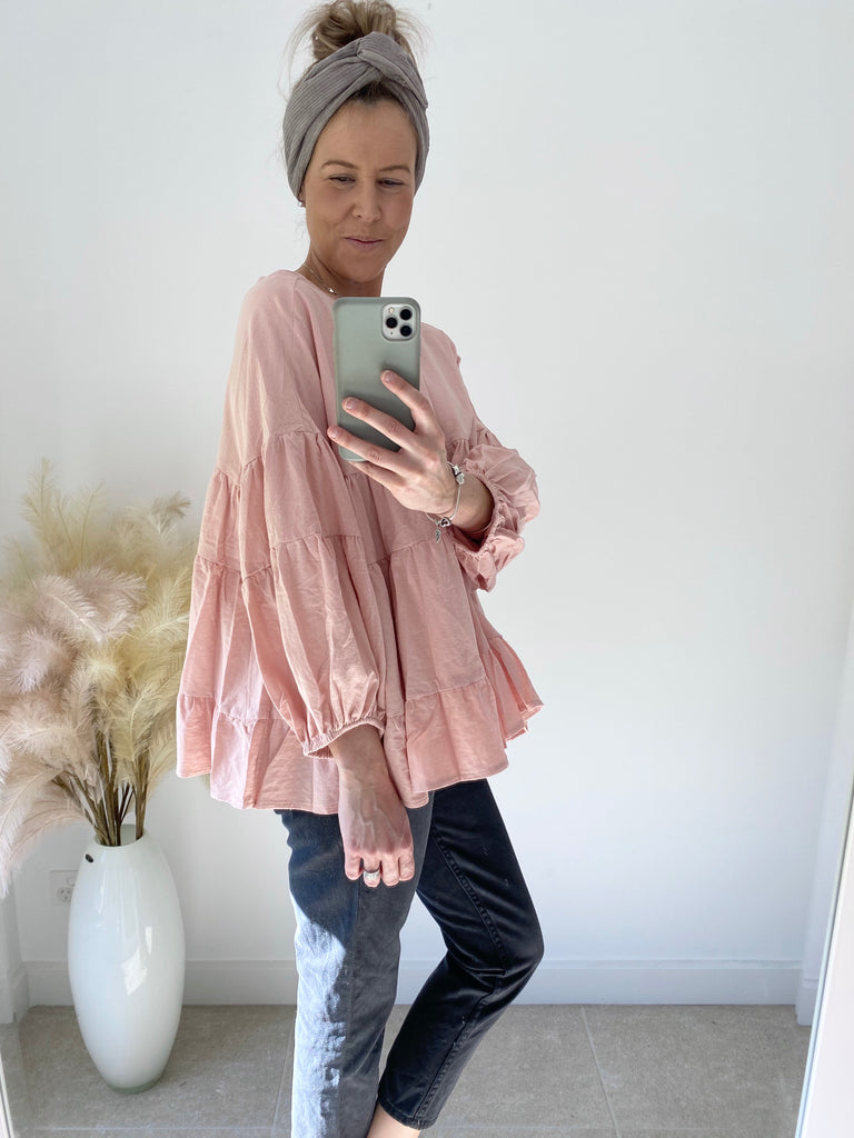 Lulu Top Blush