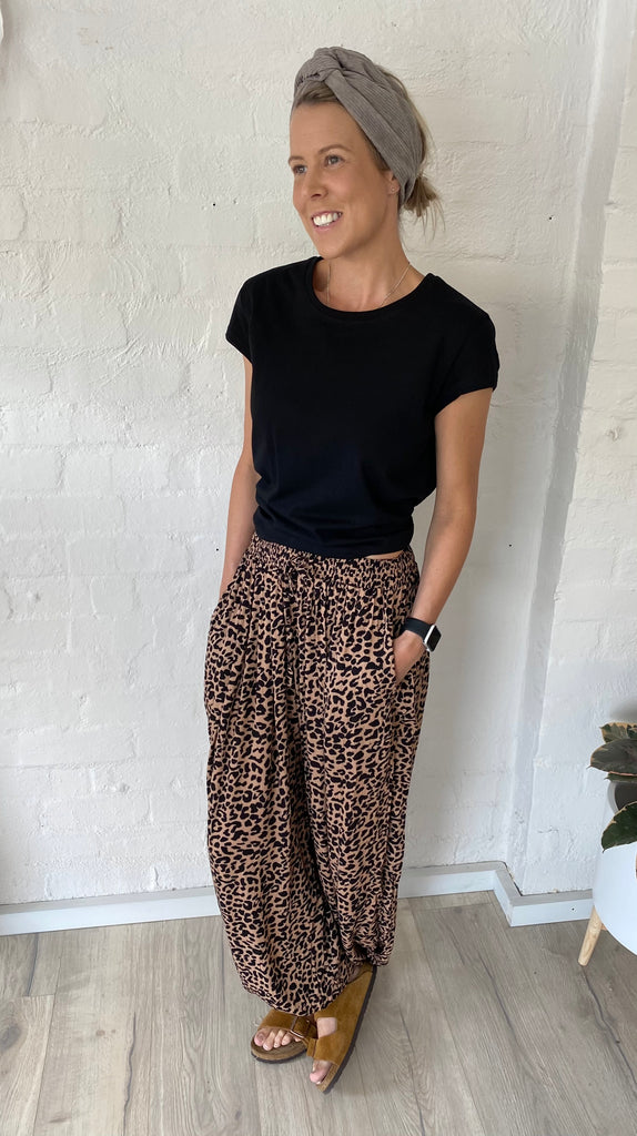 Gypsy Pants Leopard