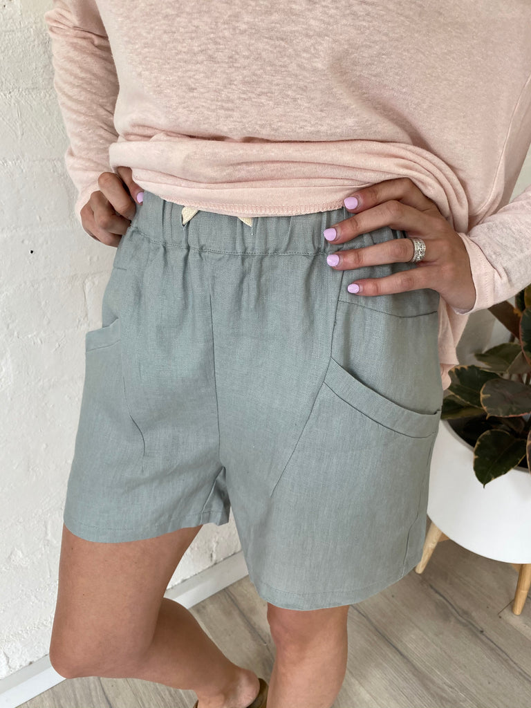 Luxe Shorts Sage