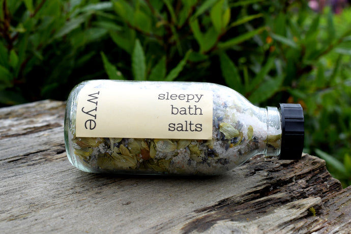 wye sleepy bath salts