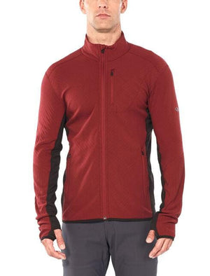 Men's Descender Long-Sleeve Zip