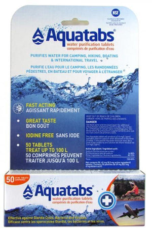 Aquatabs 50pcs