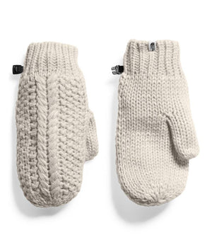 Women's Cable Minna Mitts - Old Sku