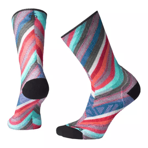 Women's Outdoor Light Print Crew Sock