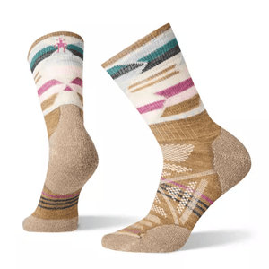 Women's Outdoor Light Pattern Mid Crew Sock