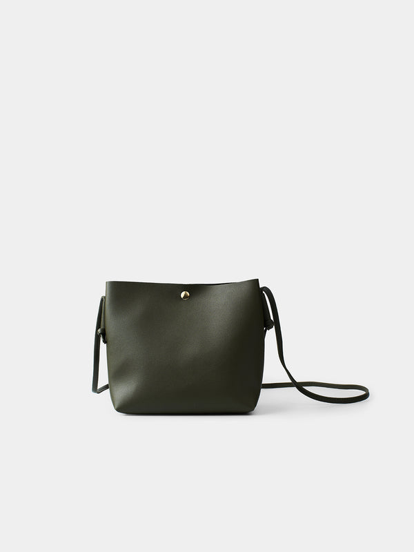 Leora Shoulder Bag - Olive
