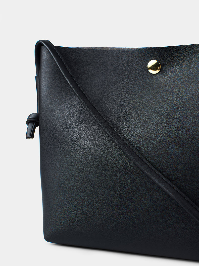Leora Shoulder Bag - Black