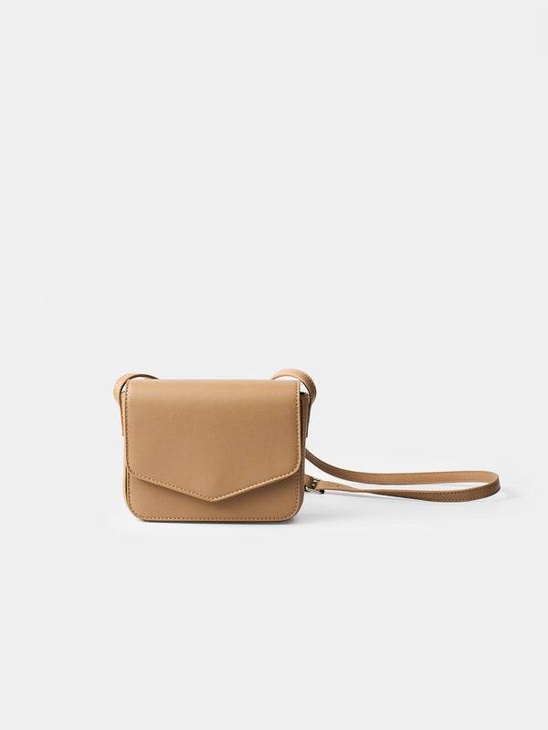 Genoveva Small Shoulder Bag - Caramel