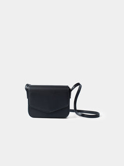 Genoveva Small Shoulder Bag - Black
