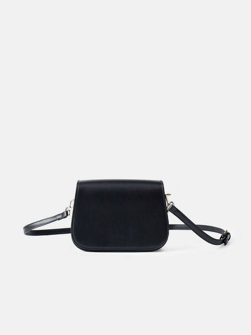 Eleonora Shoulder Bag - Black