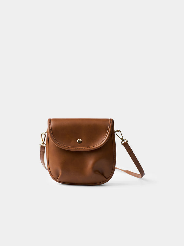 Nora Mini Crossbody Bag - Maroon