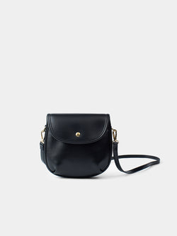 Nora Mini Crossbody Bag - Black