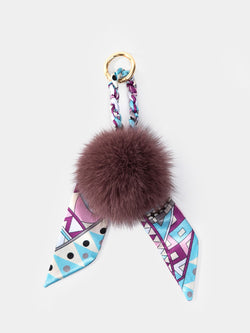 Fur Bubble Bag Charm