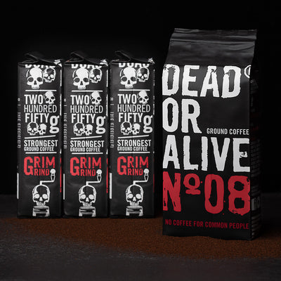 DEAD OR ALIVE Nº08 Moka - for a strong Italian way to brew coffee at home