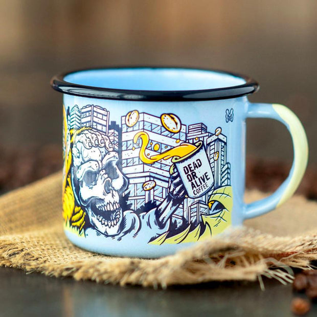 "LIMITED EDITION MUG ""JUNGLE"" - coffee beans, strong coffee beans, Best coffee beans, Dead or alive coffee beans"