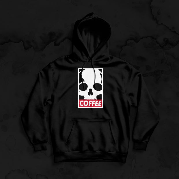 DOAC CLASSIC HOODIE UNISEX - coffee beans, strong coffee beans, Best coffee beans, Dead or alive coffee beans