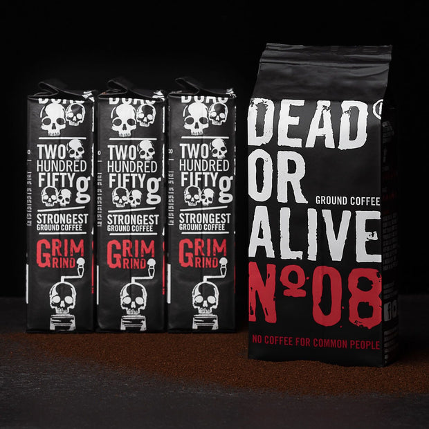 BIG PACK - DEAD OR ALIVE MOKA Nº08