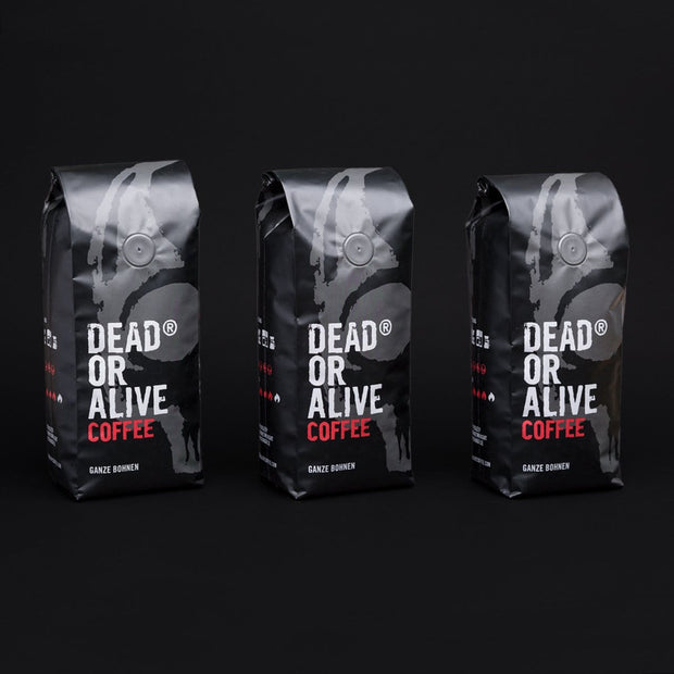 3 PACK DEAD OR ALIVE COFFEE ORIGINAL