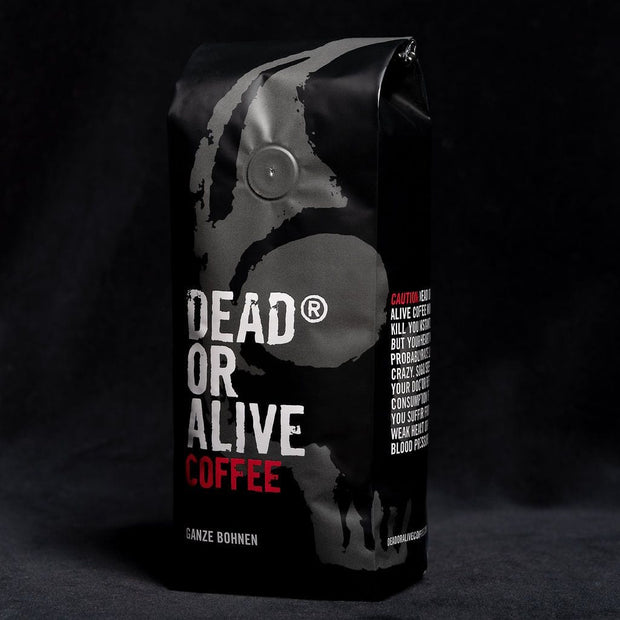 DEAD OR ALIVE COFFEE ORIGINAL - coffee beans, strong coffee beans, Best coffee beans, Dead or alive coffee beans