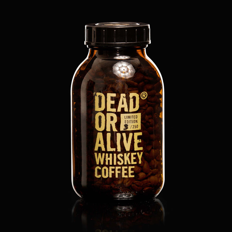 DEAD OR ALIVE WHISKEY COFFEE - DEADLY JACK - WHISKEY FLAVORED COFFEE