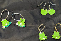 Adorable Frog Earrings