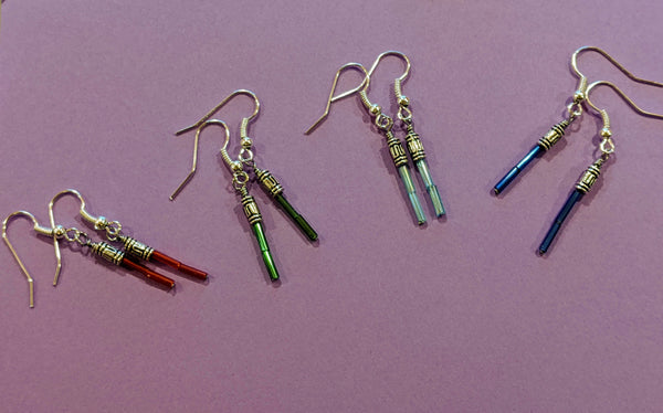 Light Saber Earrings