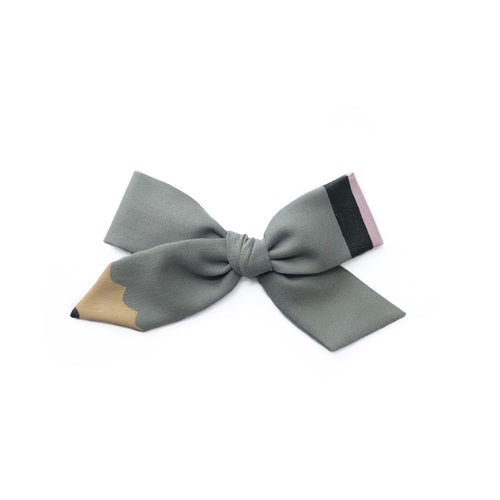 Pencil Bow || Modern Gray
