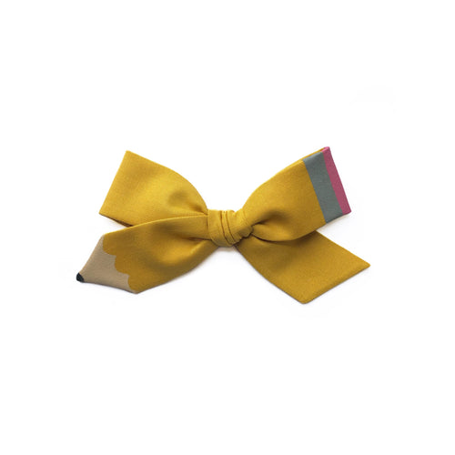 Pencil Bow || Fall Yellow