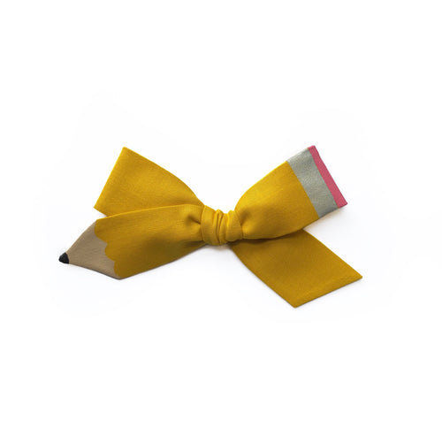 Pencil Bow || Spring Yellow