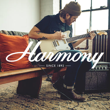 harmony guitars electric guitars amps accessories. Black Bedroom Furniture Sets. Home Design Ideas
