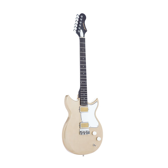 Harmony Rebel Electric Guitar, Champagne