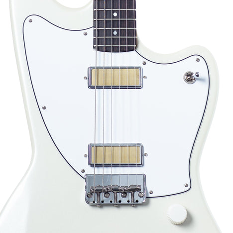 Harmony Silhouette Electric Guitar, Pearl White