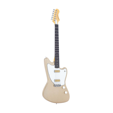 Harmony Silhouette Electric Guitar, Champagne