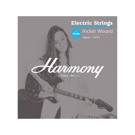 HE02 Nickel Electric Guitar Strings, Regular, 10/46