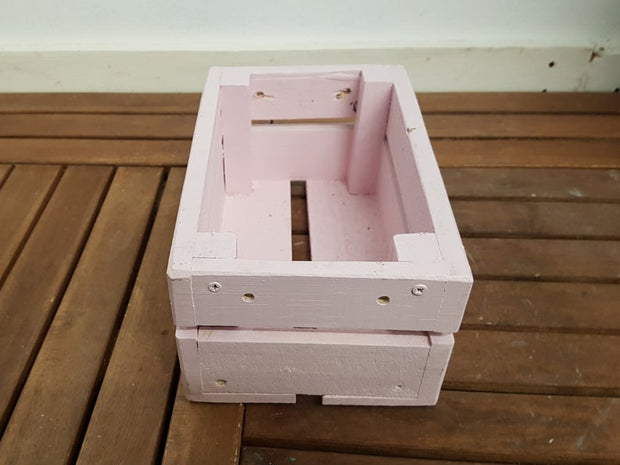 Wooden Garden Crates- Garden decor/furniture- Any colour