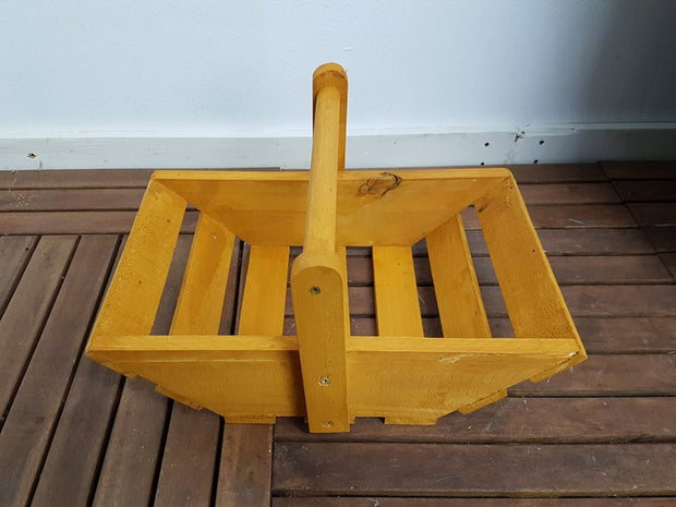 Handmade Wooden Garden Trug- Garden Furniture Decor