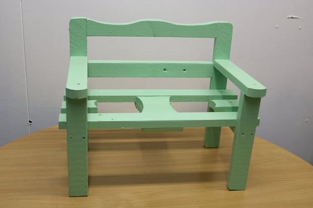 Garden Decor - Handmade wooden plant bench