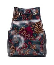 Load image into Gallery viewer, Patricia Nash Fall Tapestry Tierce Sling Backpack