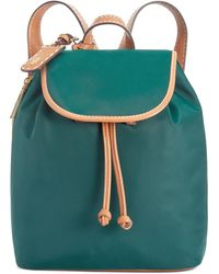 Tommy Hilfiger Julia Green Flap Backpack