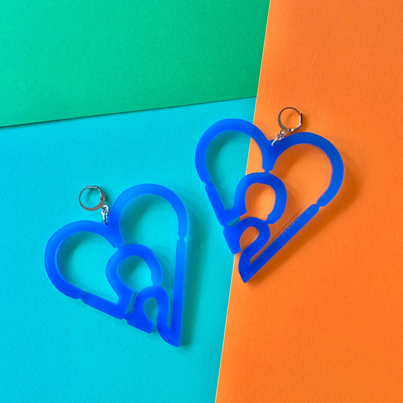 253 Heart Earrings
