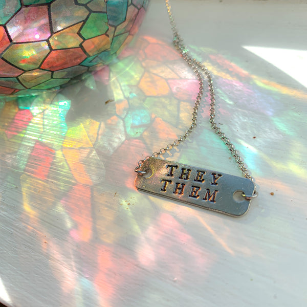 They/ Them Necklace