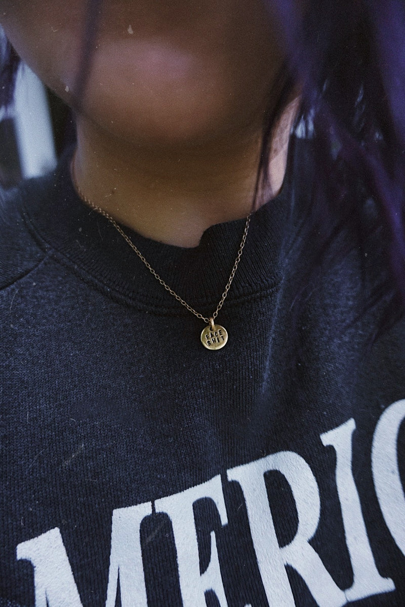 Face Shit Necklace