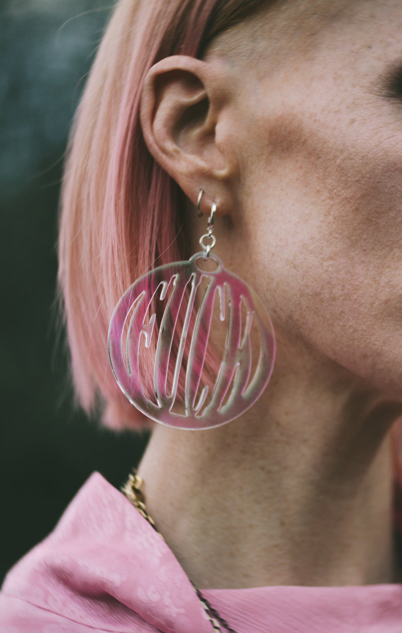 Acrylic Fuck Earrings