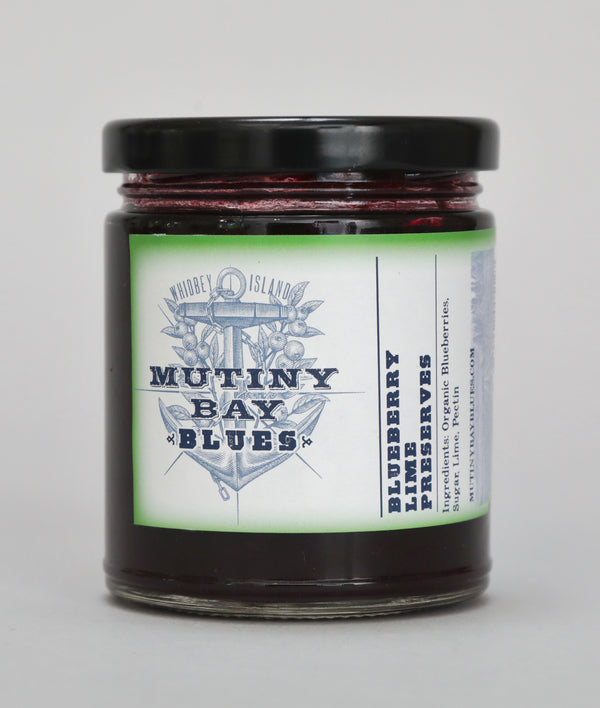 Blueberry Lime Preserves