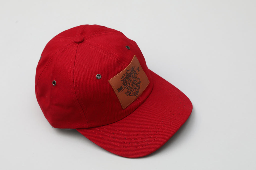 Red Hat with Leather Patch