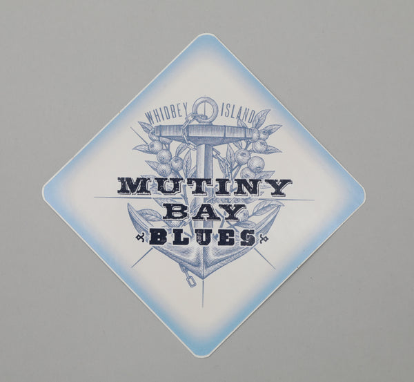 Mutiny Bay Blues Sticker